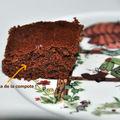Brownie à la compote