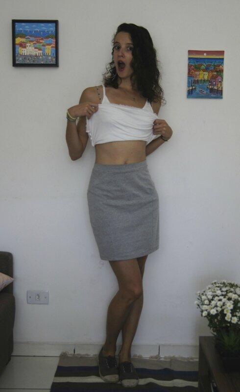Brume jupe taille haute
