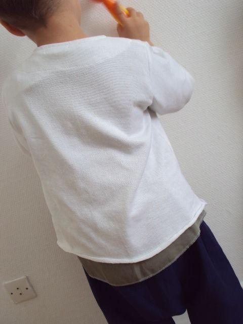 maille coton blanc interlock