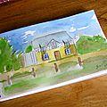 Carnet de voyage _ la b retagne - aquarelles -