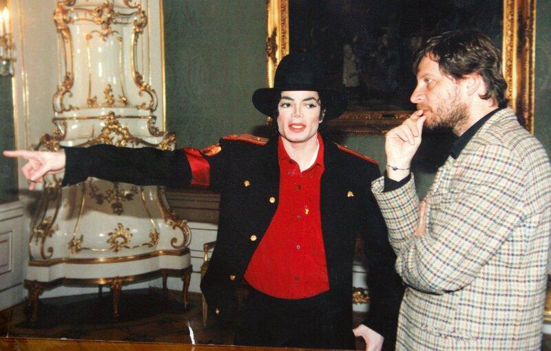 Michael Jackson à Prague, septembre 1996 - On Michael ...