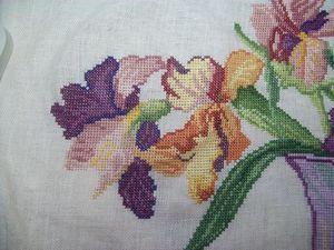 Bouquet d'iris DMC - en-cours (9)