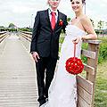 Le grand jour - les mariés