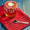 ☆ calendrier de l'avent : 1 surprise par jour ☆ jour 4 : gelée de pommes au thé et au citron vert