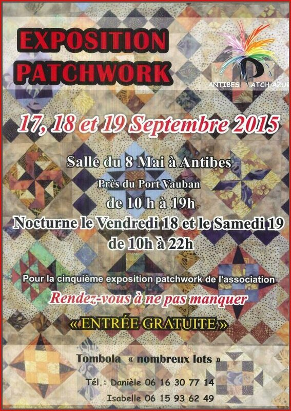 expo patch antibes