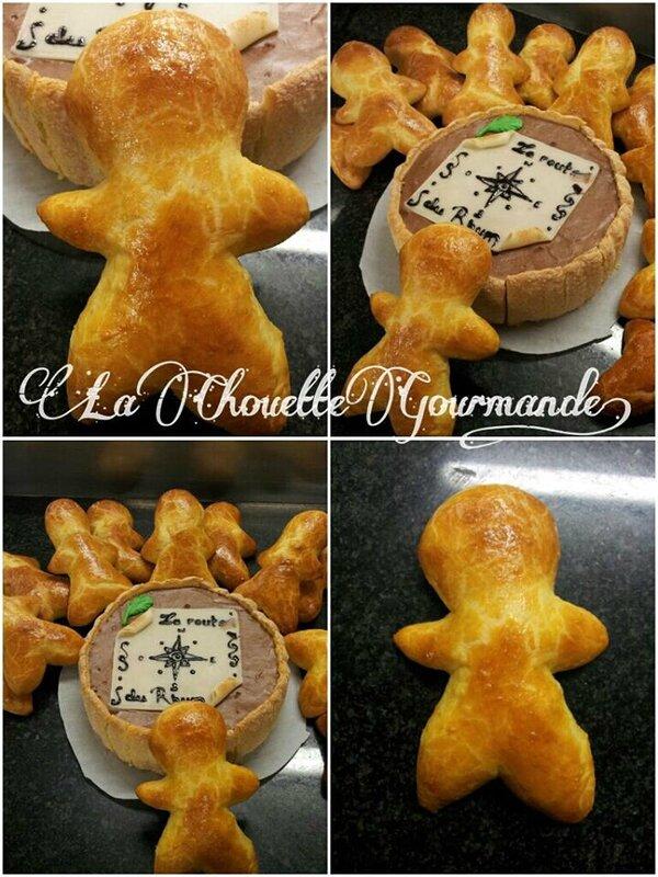 ST Nicolas CFA charlotte mousse chocolat