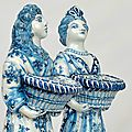 Gemeentemuseum museum acquires pair of 1690s delft figures of king william iii and queen mary ii