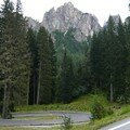 Passo di Giau versant Nord Est.