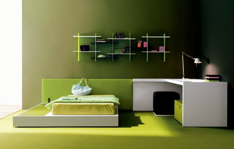 amazing-green-teen-room