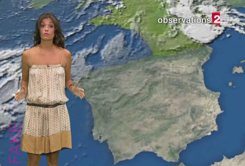 Tania Young, robe transparente