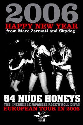 Canalblog Concert 54 Nude Honeys Flyer