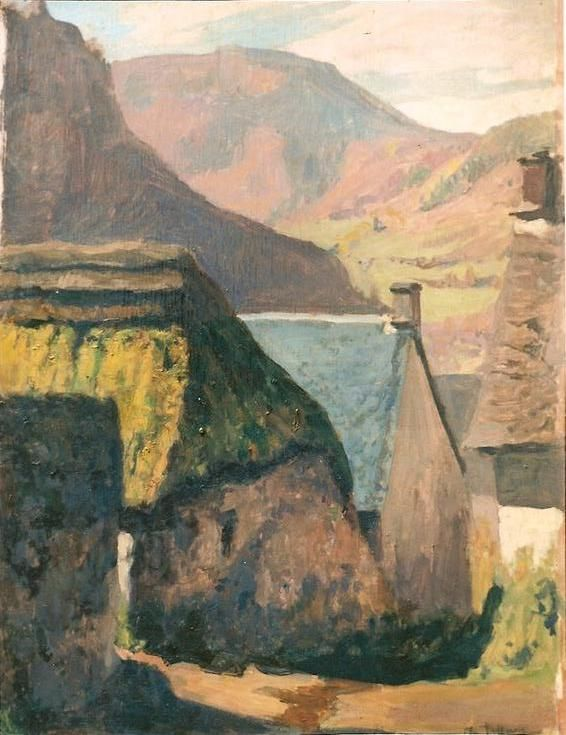 2_Village_du_Cantal___50x66_cms