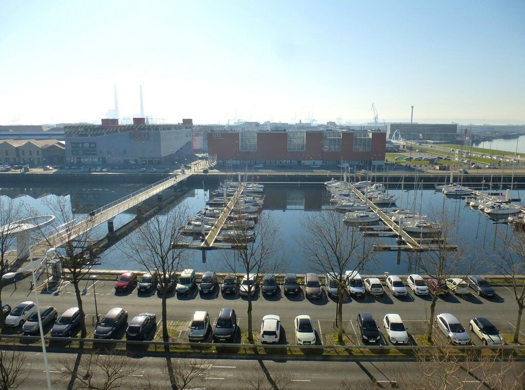 Le bassin vauban les docks balades au havre - Bassin pour balcon le havre ...