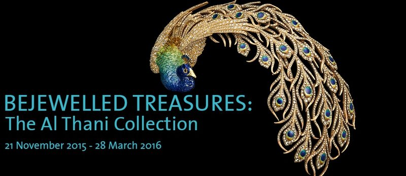 """Bejewelled Treasures: The Al Thani Collection"" on view at the Victoria & Albert Museum"