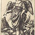 1541 Sebald BEHAM - La Mauvaise Fortune