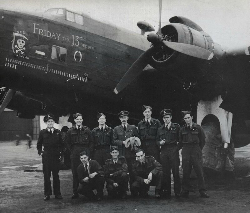 ' Friday the 13th ' with its aircrew and groundcrew