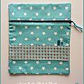 Pochette pour sac à langer ou autre - Commande
