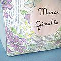 Ginette récapépette !
