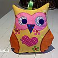 chouette coussin 4