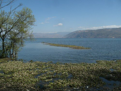 Lac Erhai, pres de Dali