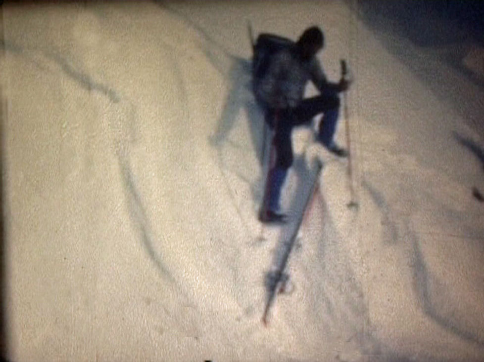 Randonnées à ski en Ubaye du 1er au 9 avril 1978