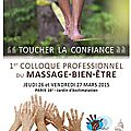 Participation au 1er colloque de la ffmbe
