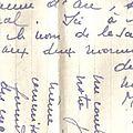 Une rentière de bergerac et ses correspondants pendant la guerre