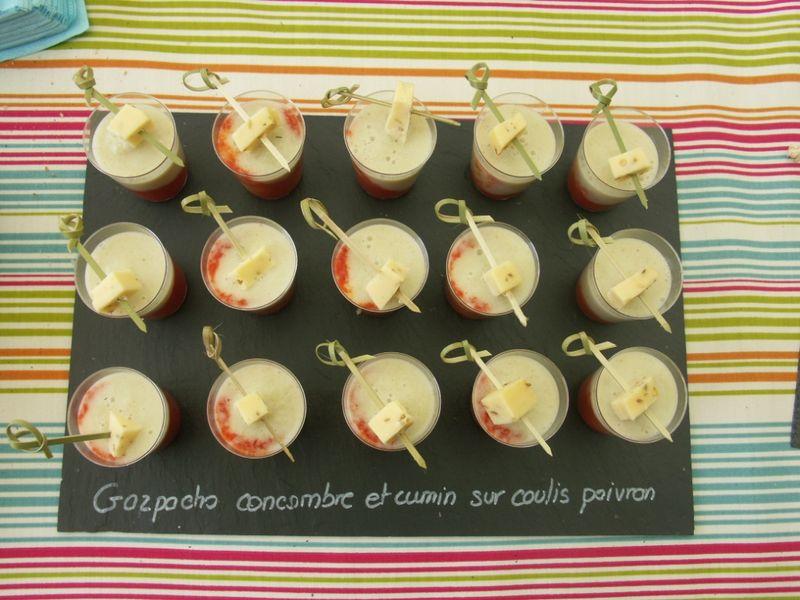 gaspacho concombre