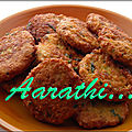 Parippu vada - spicy snack of south india