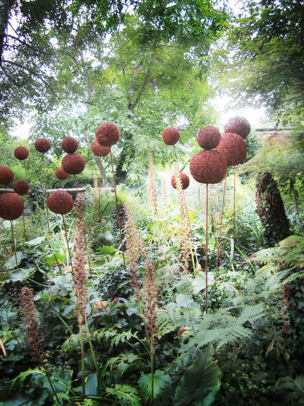 garden and boules