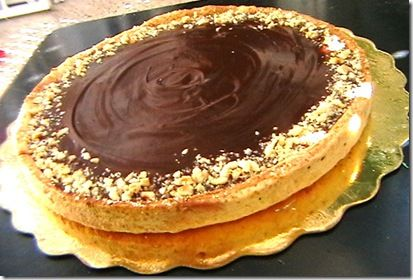 tarte chocolat