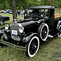 Ford model a roadster pickup 1928-1929