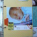 Mini project life - album bébés