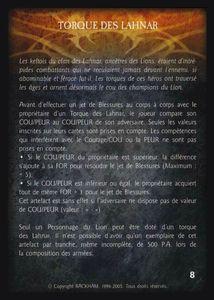Pack de cartes - Les Baronnies du Lion - torques_des_lahnar (artefact)