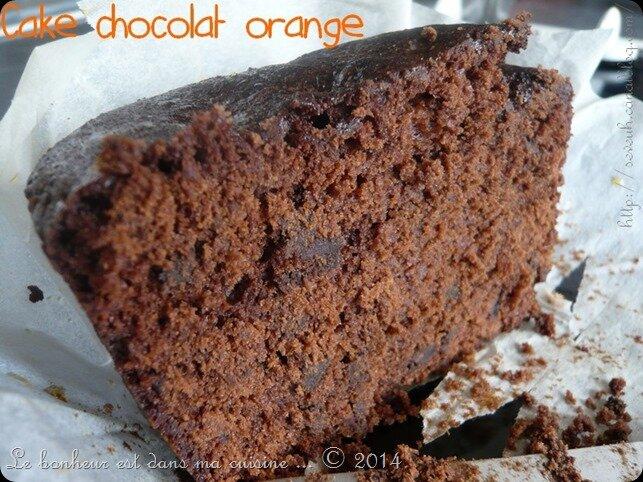Cake choco-orange