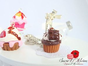 collier cup cake chocolat (2)