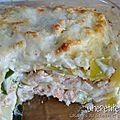 Lasagnes au saumon et au poireau