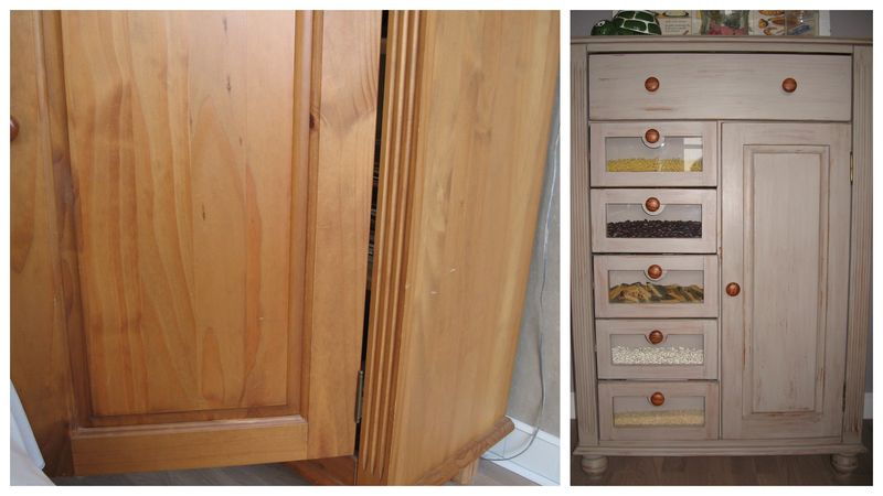 Meuble vieilli ou lasur l 39 atelier en bazar for Lasurer un meuble