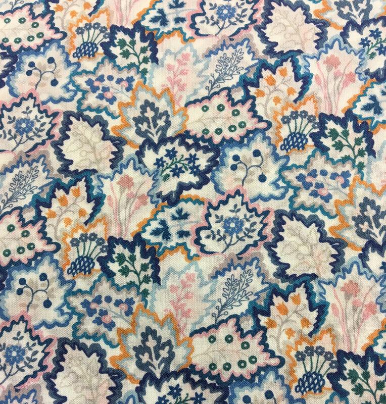 0363 8120 C Leaf Canopy bleu