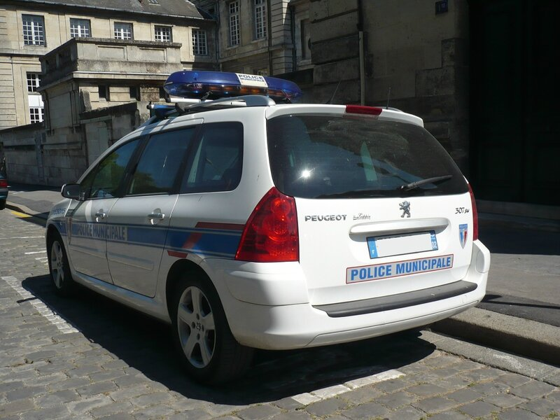 PEUGEOT 307 SW Police Municipale Soissons (2)