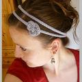 Un pour un premier headband tricotiné