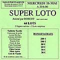 Super loto du mercredi 16 mai