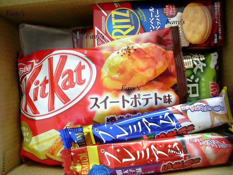 Colis Candysan 4 - Rhum et saké