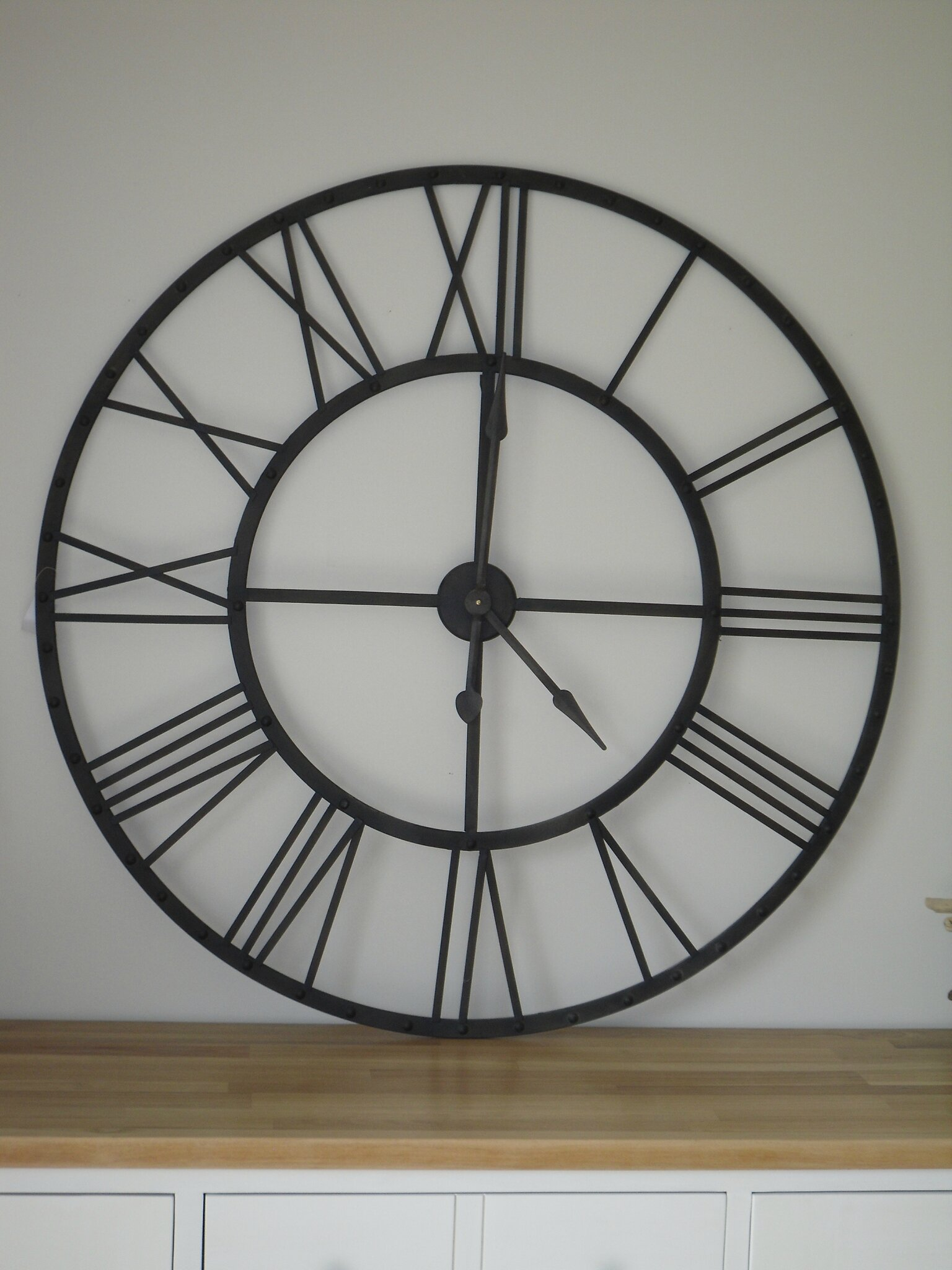 horloge indus maisons du monde 4 photo de d co broc et patine le grenier de sara. Black Bedroom Furniture Sets. Home Design Ideas