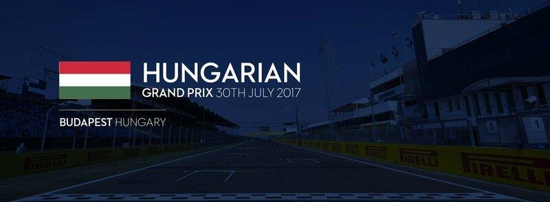 HUNGARIAN GRAND PRIX AFFICHE WF1