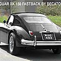 Jaguar xk 150,jaguar xk 150 ots,xk 150 roadster,jaguar xk 150 fastback,decatoire