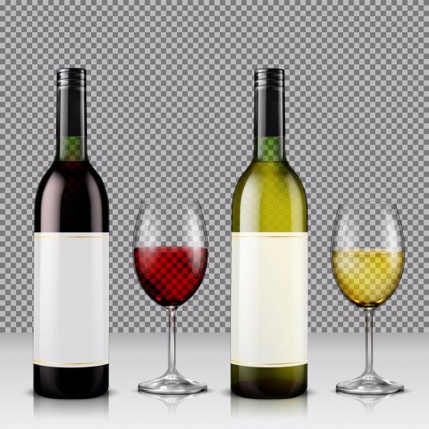 ensemble-d-39-illustration-vectorielle-realiste-de-bouteilles-de-vin-en-verre-et-de-verres-au-vin-blanc-et-rouge_1441-539