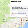 Carte des musées : un point disparaît, un autre arrive