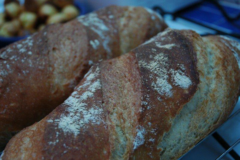 pains au four