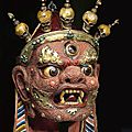 new rubin museum of art exhibition features nearly 100 masks and costumes from diverse cultures